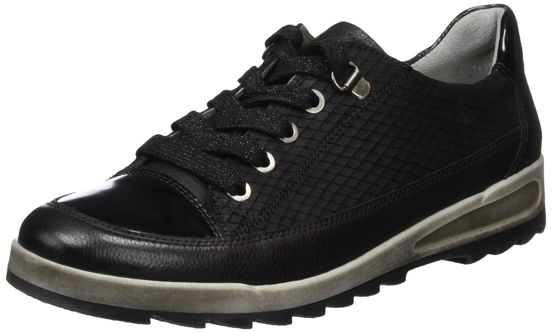 ARA (Schwarz Damen Rom-Sport Sneakers Schwarz (Schwarz ARA 01) 482915