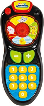 Clementoni- Mando TV electrónico, Multicolor, Miscelanea (17180.4): Amazon.es: Juguetes y juegos