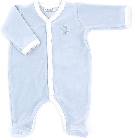 Premiers Moments – Pijama terciopelo de algodón orgánico: Amazon.es: Bebé