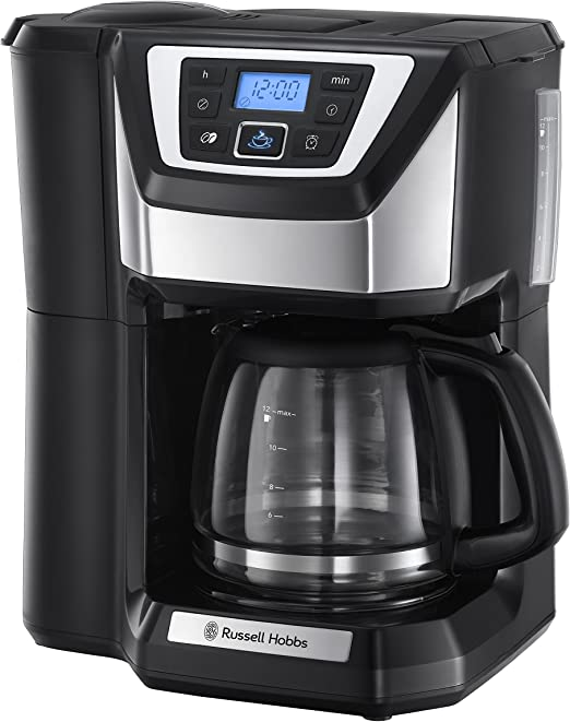 Russell Hobbs Chester Grind & Brew - Cafetera de Goteo (Jarra ...