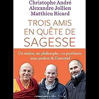 Trois amis en quête de sagesse: Un moine, un philisophe, un psychiatre nous parlent de l'essentiel. (French Edition)