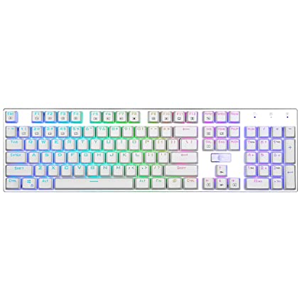 5ef94018186 E Element Z-88 RGB Mechanical Gaming Keyboard, Red Switch - Linear & Quiet