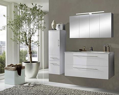 Sam® Design Set di mobili da bagno Roma, 120 cm, colore ...