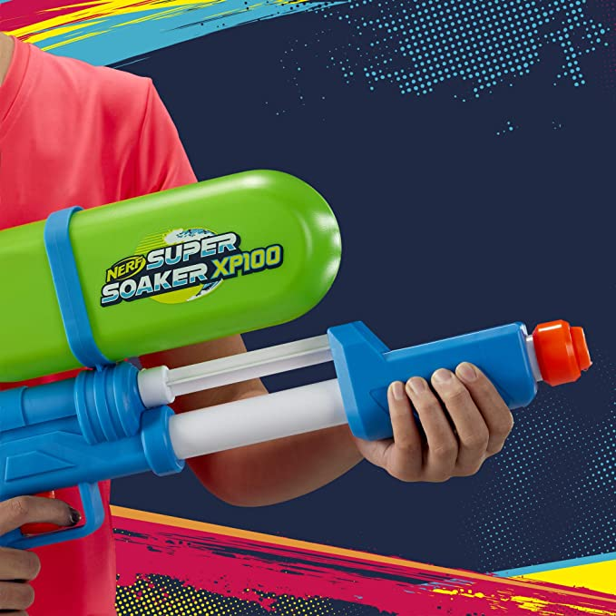Nerf Super Soaker XP 100 Water Gun Limited Edition Brand New 2020