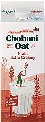 Chobani Oat Milk, Extra Creamy Plain, 52 Fl Oz