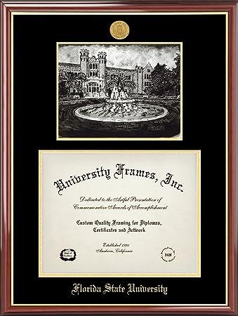 florida state university diploma frame