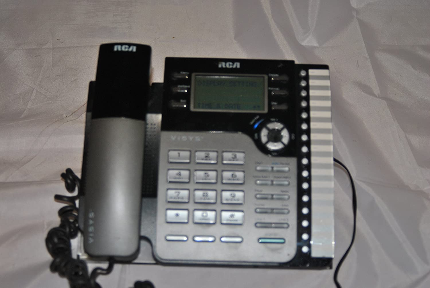 Telephone RCA VISYS 25204RE1-A with Power Supply
