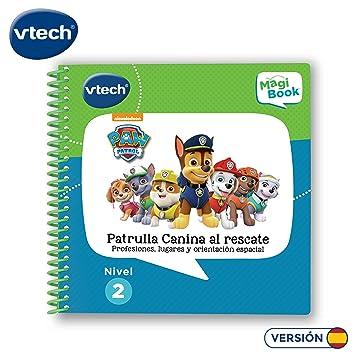 VTech- MagiBook Patrulla Canina, Paw Patrol Libro Interactivo ...