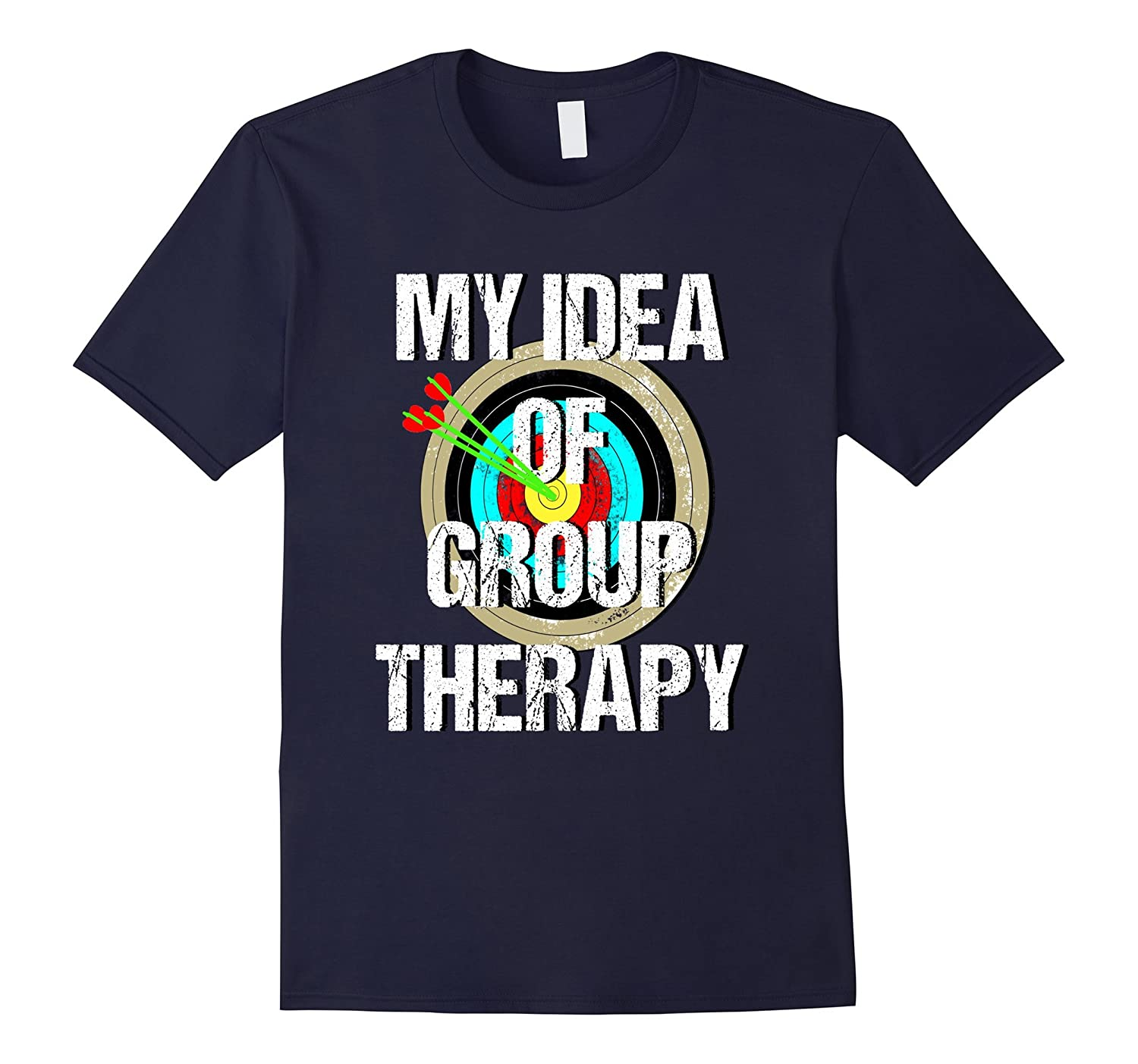 Bow and Archery Group Therapy Vintage T-Shirt-RT