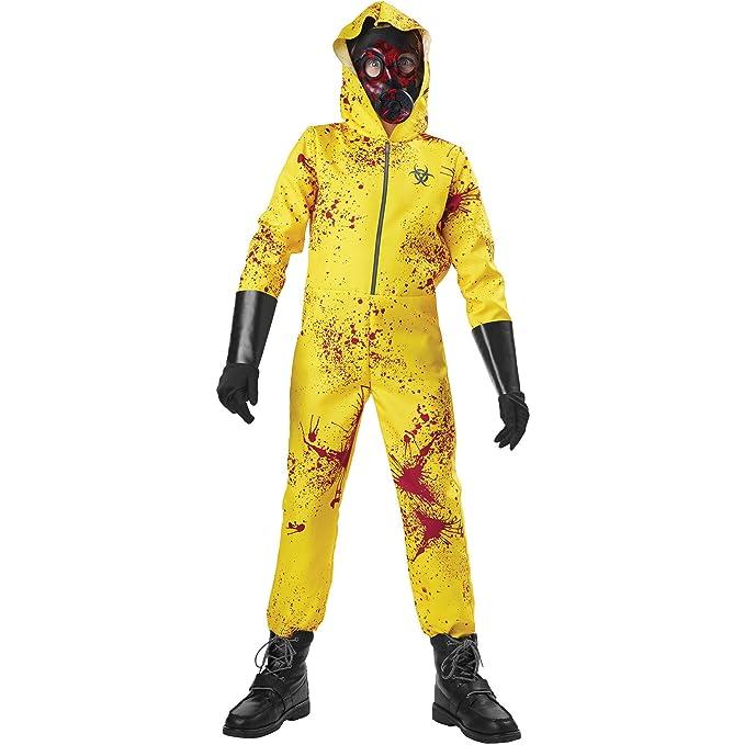 Amazon.com  Zombie Hazmat Child Halloween Costume XL (14-16)  Clothing b93d0c84b