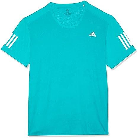 Adidas Response Manga Corta Camiseta de, otoño/Invierno, Hombre, Color Hi-