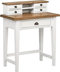 Stone & Beam Fern Hill 5-Drawer Office Desk, 32