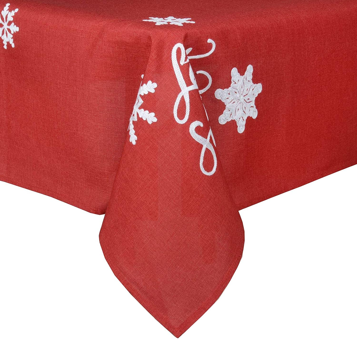 Pack Of 4 Square Fabric Table Napkins Material Serviette For Christmas 16x16 White