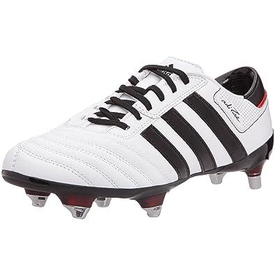 online retailer 8f161 e4793 adidas adiPURE III XTRX Soft Ground Football Boots - WhiteBlackPoppy - UK  Size 10 Amazon.co.uk Shoes  Bags