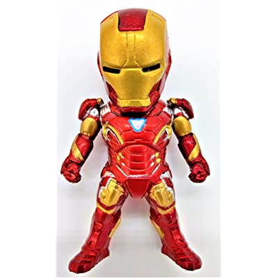 Prodigy Toys Iron Man Action Figure/Mini Ironman Figure Collectible Toy with Arc Reactor: Sports & Outdoors