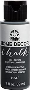 FolkArt Home Décor Chalk Furniture & Craft Paint in Assorted Colors, 2oz, Maui Sand