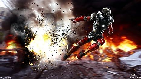 Posterhouzz Movie Iron Man 3 Iron Man Hot Toys Hd Wallpaper
