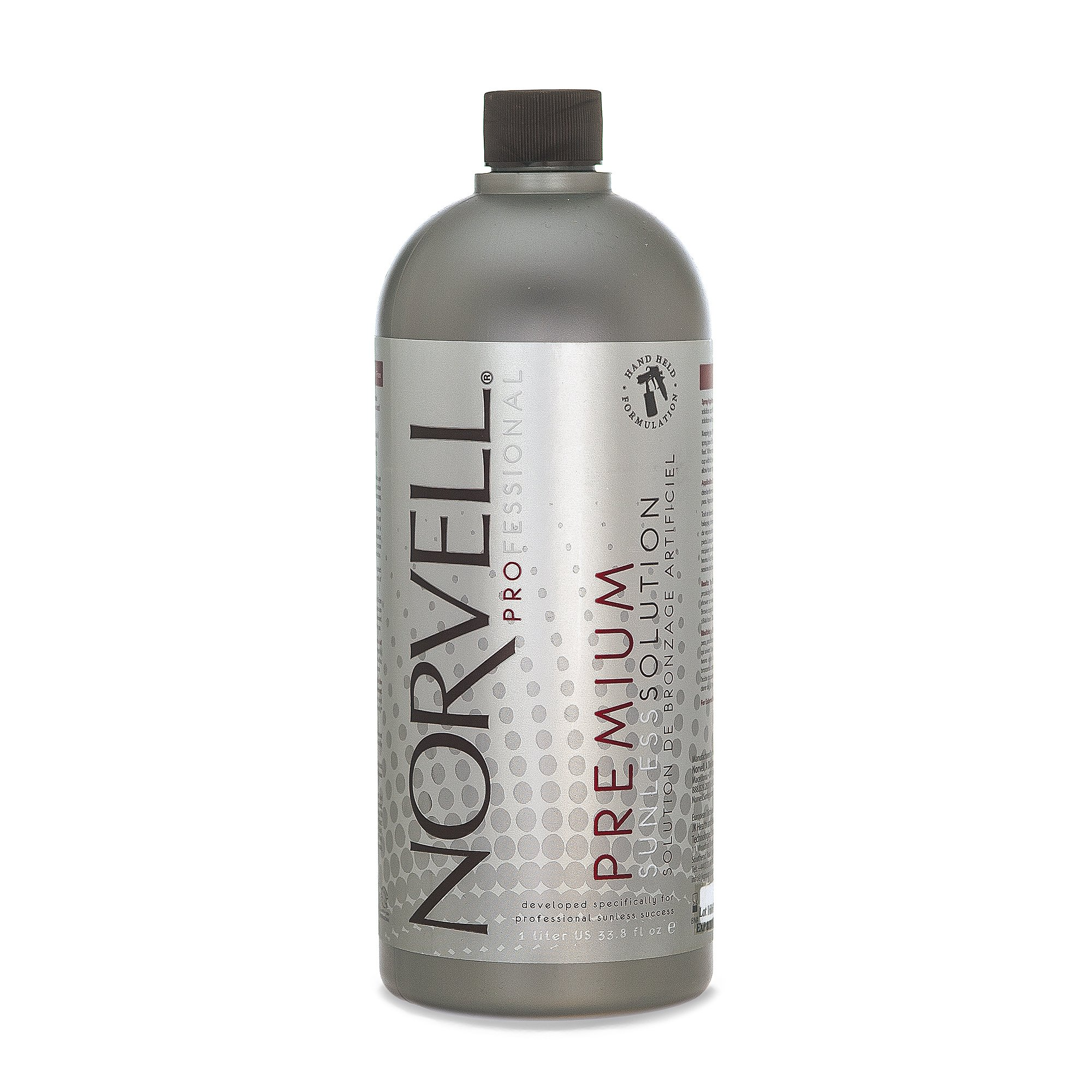 Norvell Premium Sunless Tanning Solution - Clear Plus, 1 Liter by Norvell
