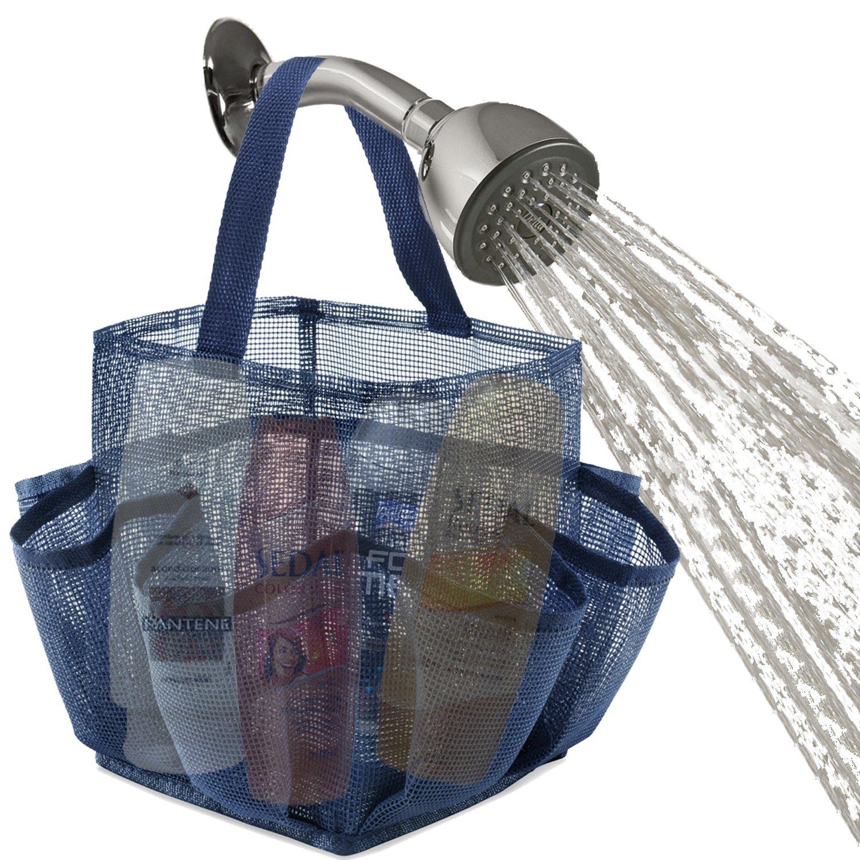 Amazon.com: Zober Mesh Shower Caddy Organizer Tote for Bathroom ...
