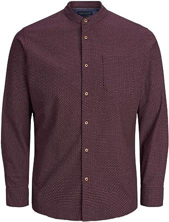 JPRAUSTIN Camisa Coreana M/L Burdeos, L MainApps: MainApps ...