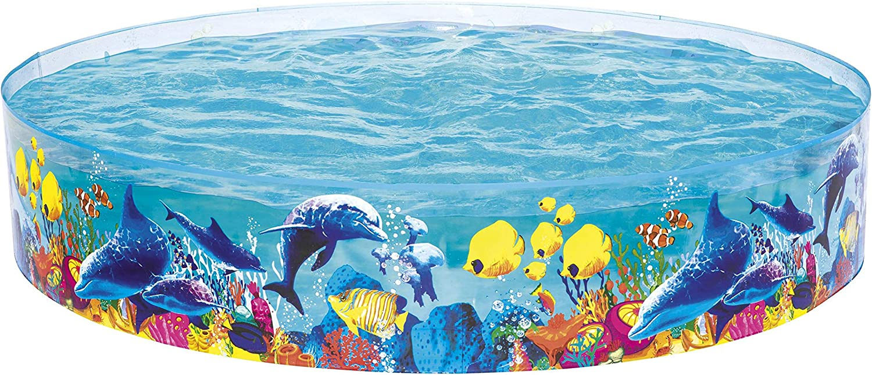 Bestway 55031 - Piscina Infantil Fill N' Fun Odyssey 244x56 cm