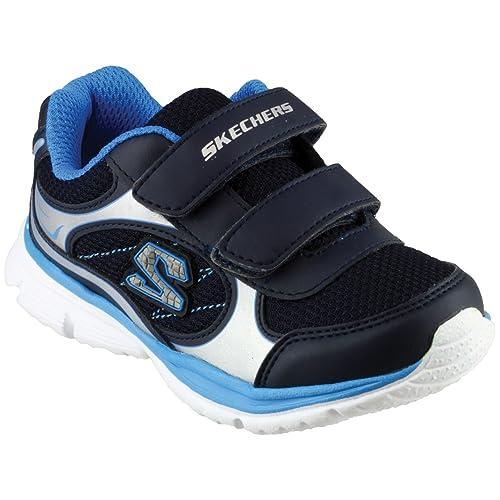 Sneakers blu navy per bambini Skechers Perfectos Comprar El Estilo De La Moda Barata dn999