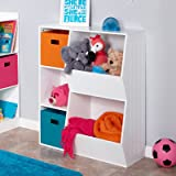 RiverRidge Kids 02-146 3-Cubby/2-Veggie Bin Floor
