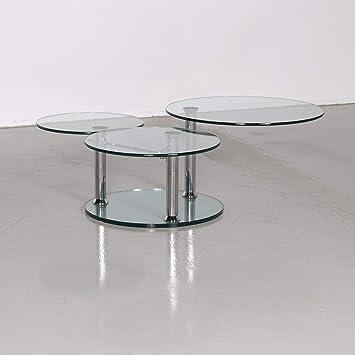 Draenert Intermezzo 1132 Designer Couchtisch Silber By Georg