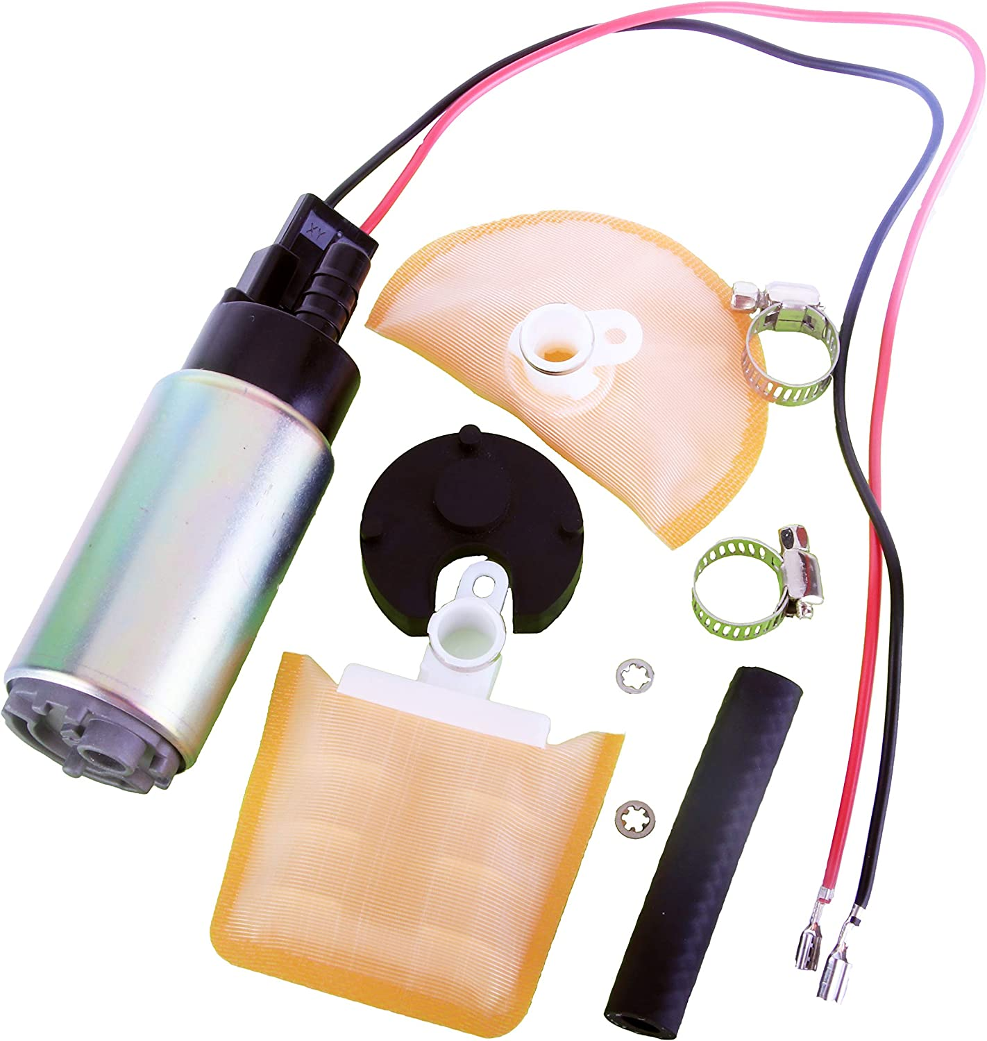 MUCO New 1pc E8213 Electric EFI Fuel Pump Gas Intank With Necessary Installation Kit Fit for Toyota Honda Chevy CMC