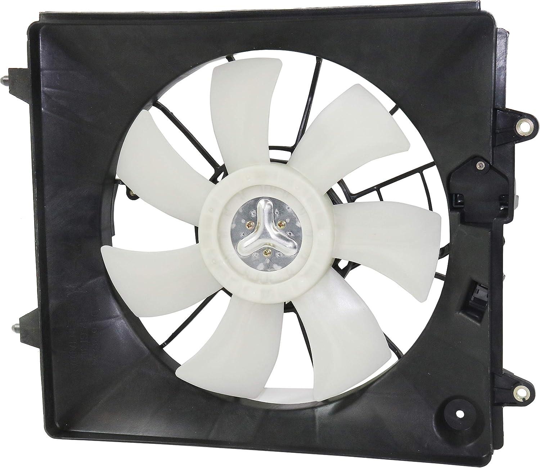 A//C Condenser Cooling Fan 2.4L, 4 Cylinder for 07-09 Honda CR-V