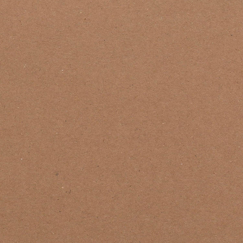 Bazzill Classic Cardstock 12X12-Dark Kraft