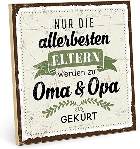 Blechschilder Familie Oma Opa Papa Mama Geschenke Schild 20x30cm lustige Sprüche