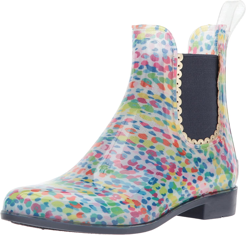 jack rogers glitter rain boots