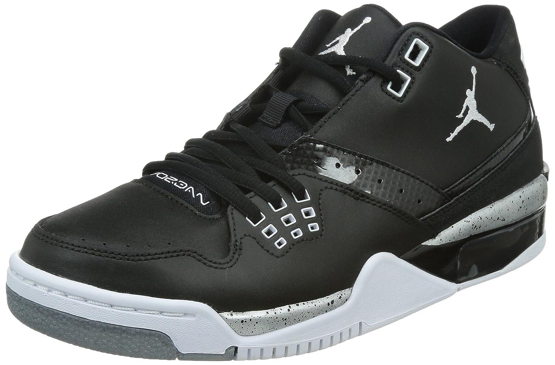 the latest e8f26 bb042 Amazon.com   Jordan Nike Men s Flight23 Black White Metallic Silver  Basketball Shoe 12 Men US   Basketball