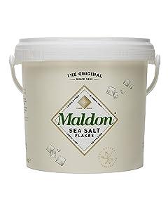Maldon Sea Salt - Flaky Pyramid-Shaped Cystals