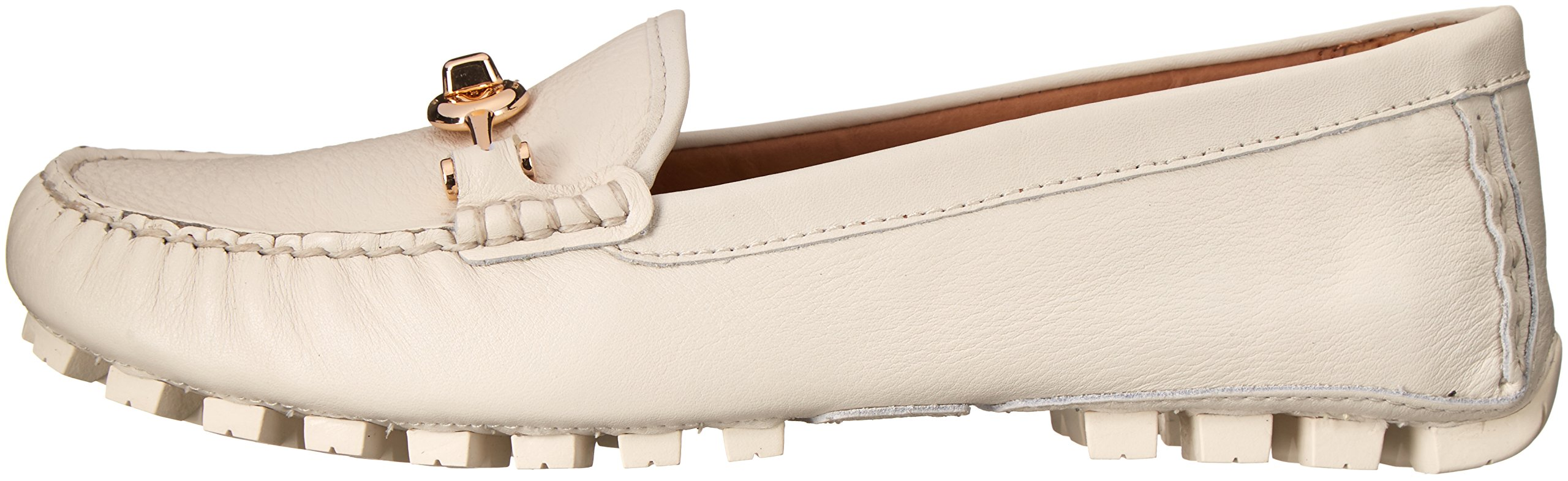 COACH Women's Arlene Chalk Pebble Grain Leather Flat by Coach (Image #5)
