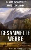 Gesammelte Werke: Historische Romane & Heimatromane: Schweigen im Walde + Das bißchen Erde + Sturmzeichen + Der Mann von Eisen + Herd und Schwert + Der Wagehals