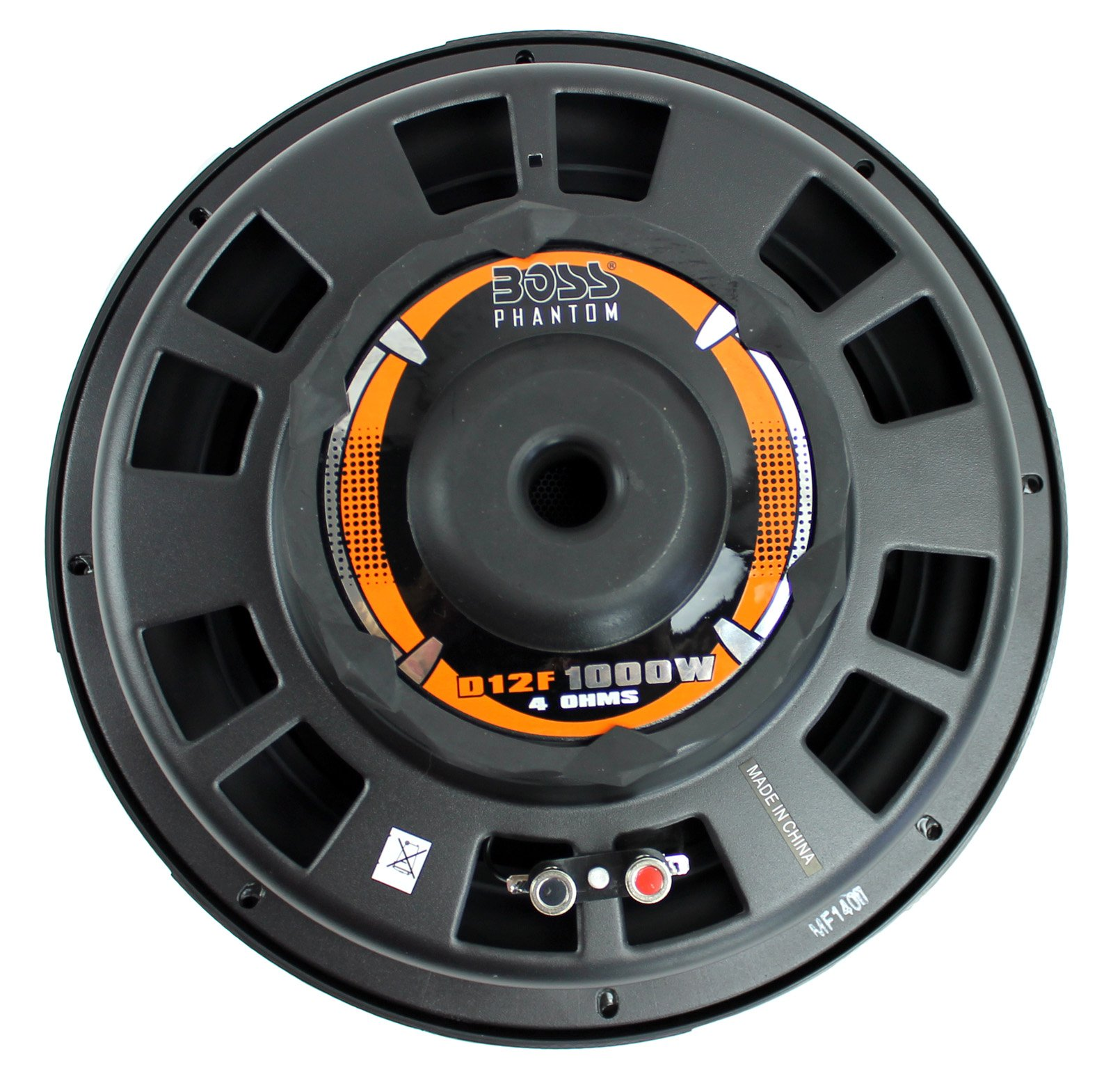 2) New BOSS D12F 12'' 2000W Car Audio Shallow Mount Subwoofers Power Subs Woofers