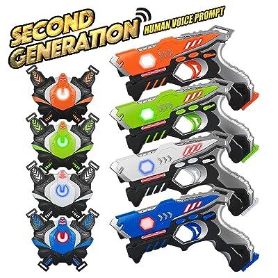 Laser Tag Guns Set 4 Pack
