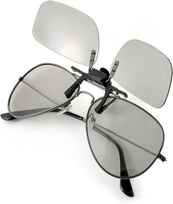 Ganzoo - Gafas 3D para televisores 3D pasivos, Juegos de PC o Cine ...