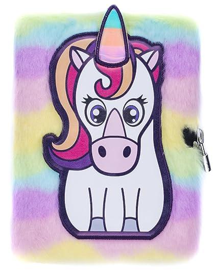 Cuaderno de Unicornio de peluche