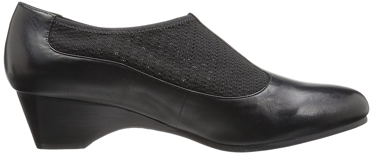 Bella Flat Vita Women's Petra Flat Bella B01HMZM6B6 8 W US|Black/Stretch 9f47e1