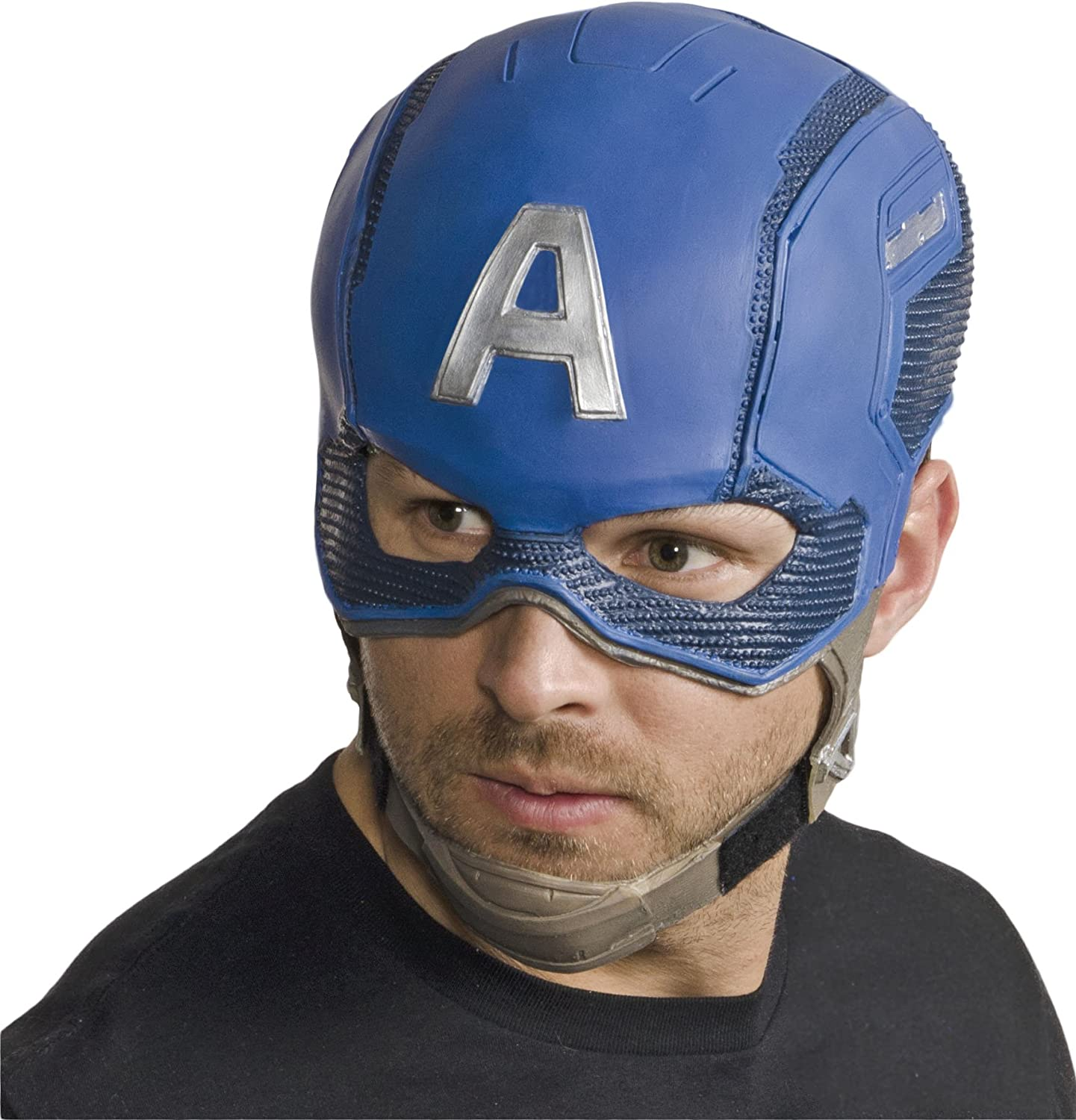 The Avengers Age of Ultron Captain America Adult Latex Mask