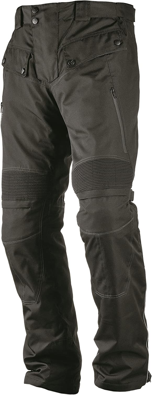 Nerve Touring Spider Pantalones de Moto con Tirantes L Negro