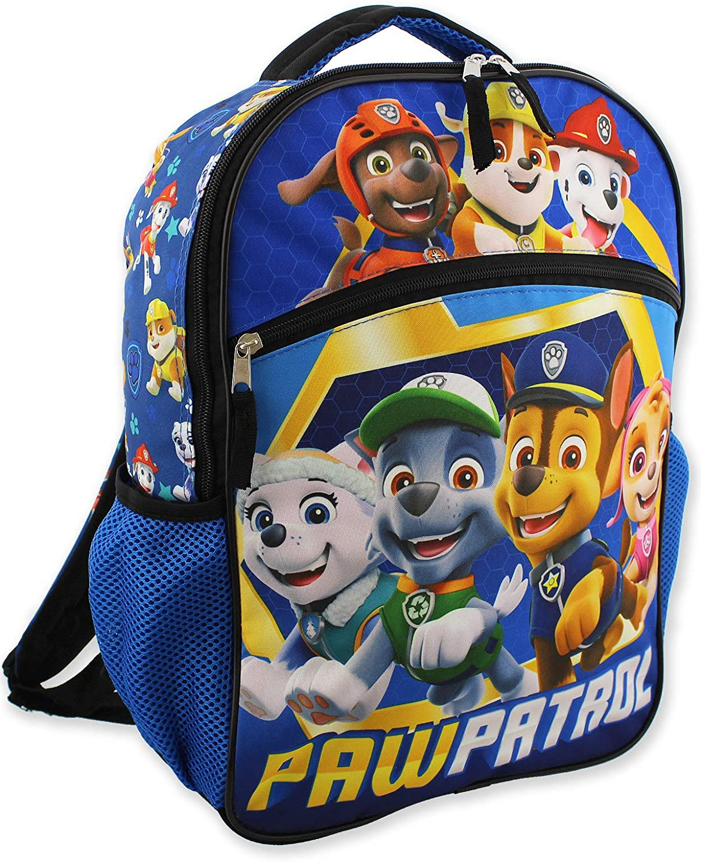 Paw Patrol Pups Boy's 16 Inch School Backpack (One Size, Blue)