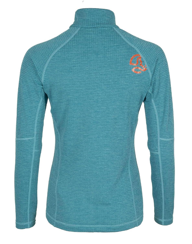 Ternua /® Camiseta Momhil Top W Mujer L Blue Curacao