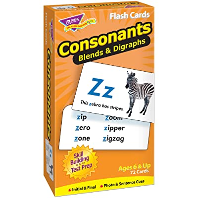 Consonants Flash Cards: Toys & Games [5Bkhe1205688]