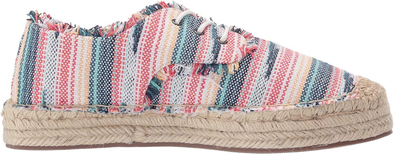 Rocket Dog Womens Etty Denise Fabric Boat Shoe
