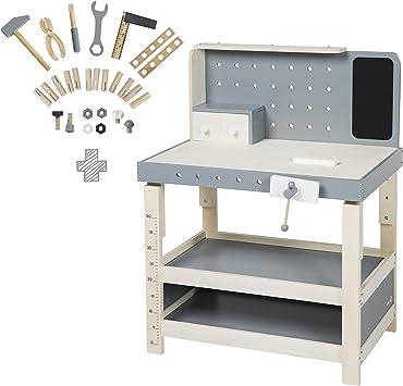 Mesa de trabajo roba, banco de trabajo de madera, con gran ...