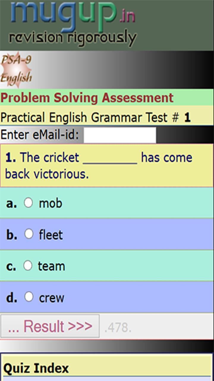 Practical English Grammar 9
